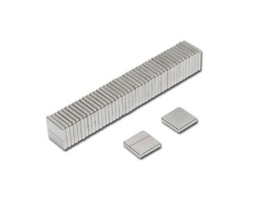 Magnetverschlussplatten 15 x 15 x 2,5