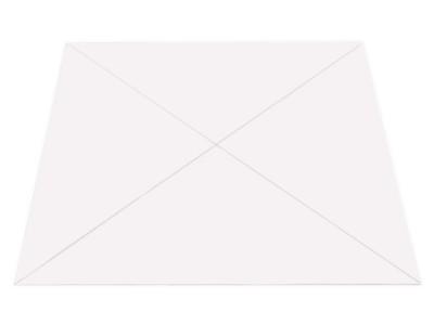 Dreiecktaschen, 140 x 140 mm, selbstklebend