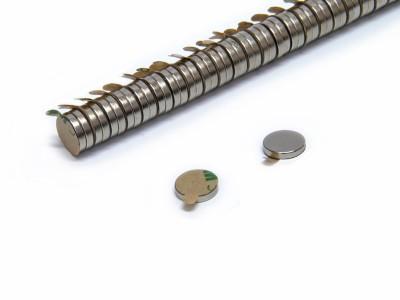 Magnete selbstklebend rund 10 x 2 mm