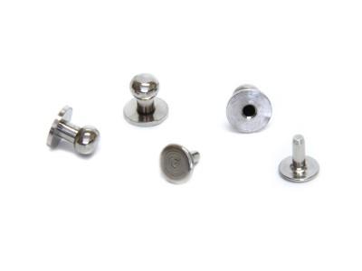 Patronenknöpfe Ø 6 x 9 mm, mit Einpressstift